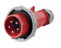 IEC60309 32A 5pin  IP67  (code 300) male plug