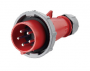 IEC60309 16A 5pin  IP67 (code 288) male plug