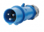 IEC60309 32A 3pin  IP44  (code 260) male plug